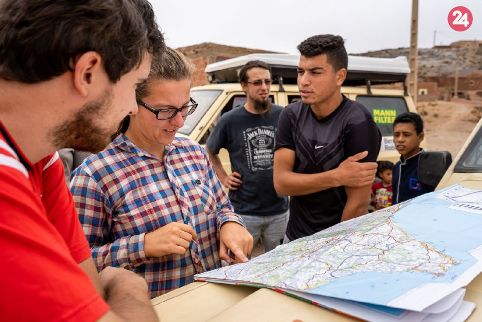 V OBRAZOCH: Dobrodružná expedícia v Maroku na starých Patroloch