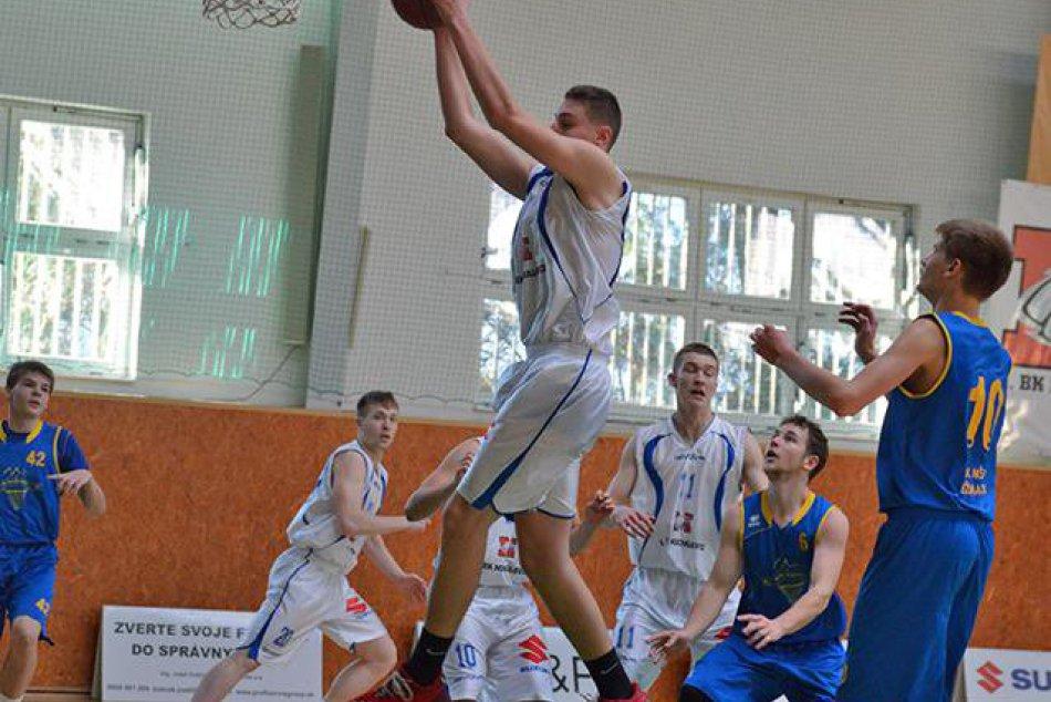 Úspešný basketbalista Samuel Kincel (18) z Michaloviec