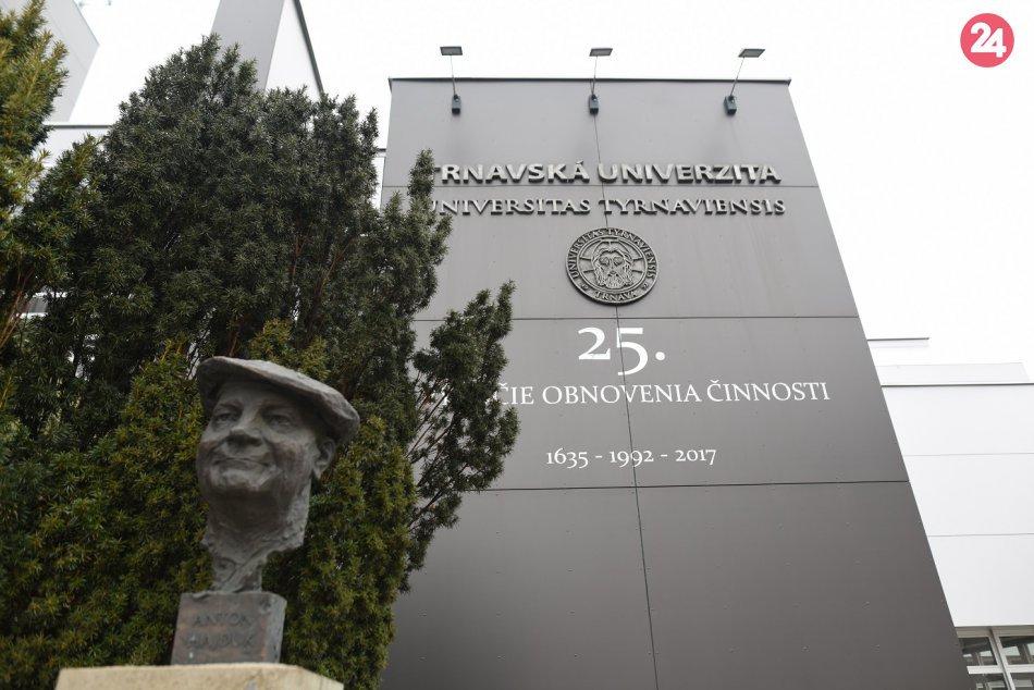 OBRAZOM: Trnavská univerzita v Trnave