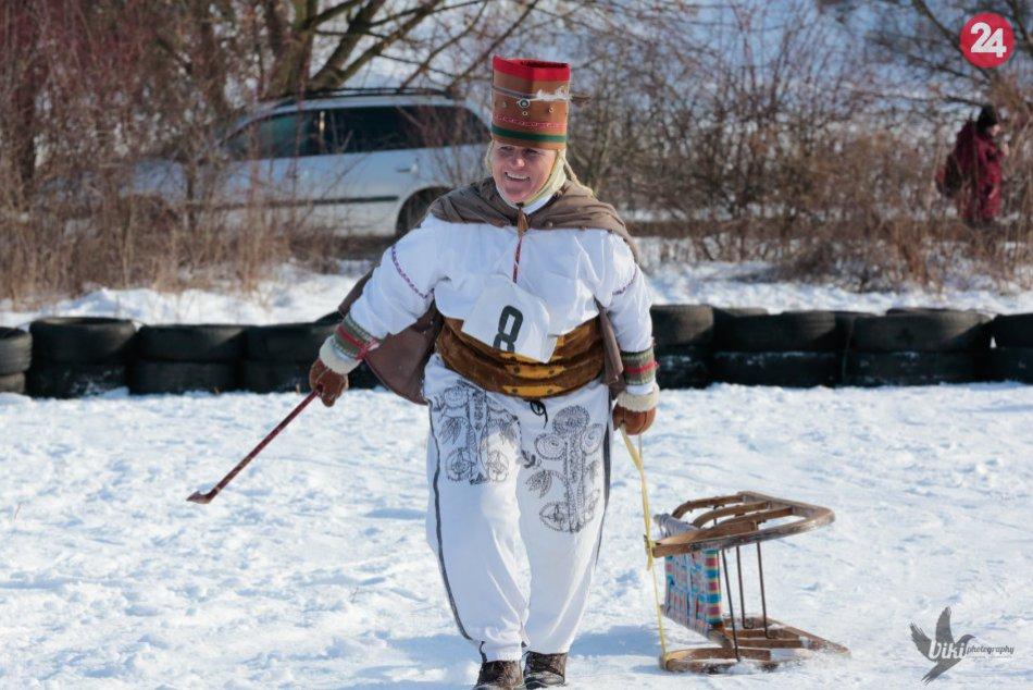 Bolo sa na čo pozerať: V Prešove na Bikoši prebehli sánkovacie majstrovstvá