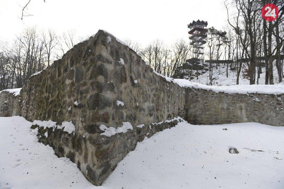 Stredoveký hrad na vrchu Hradová nad Košicami