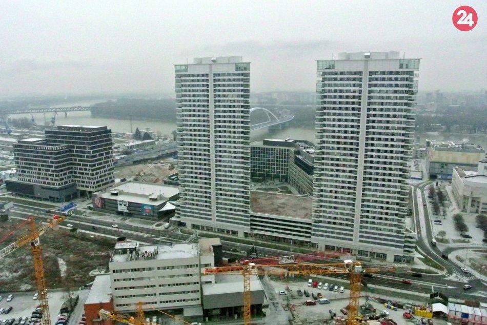 Výhľady z najvyššieho poschodia Sky Park