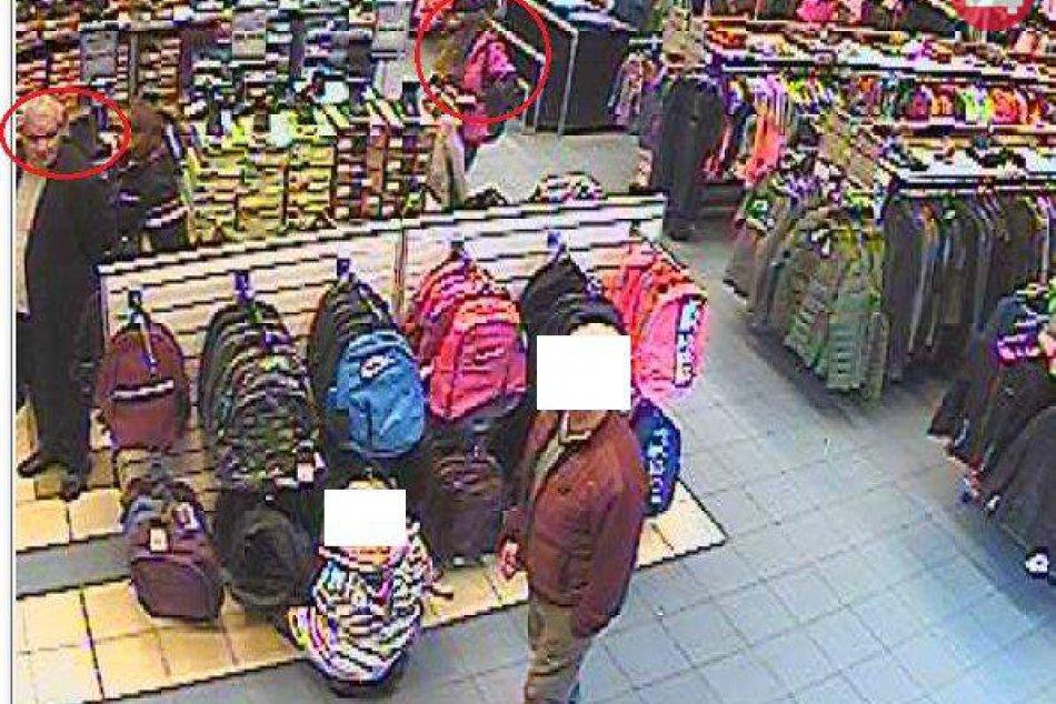 V OBRAZOCH: Vo zvolenskom obchode úradoval vreckár, polícia pátra po podozrivých