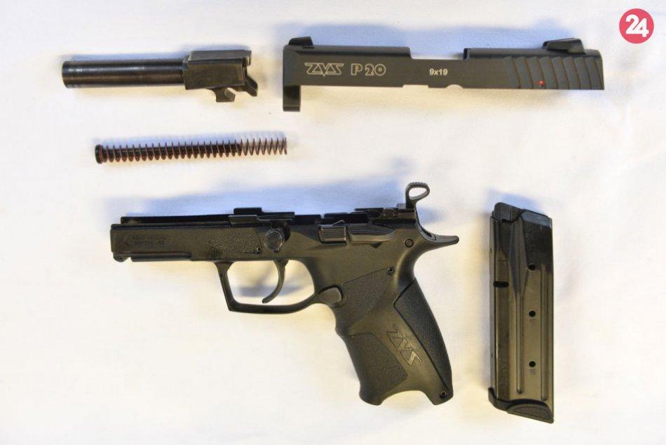 Krátke guľové zbrane