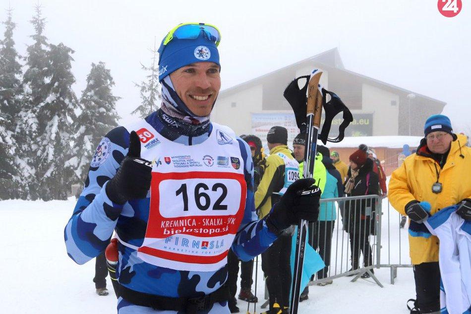 FOTO: 46. ročník pretekov Biela stopa na Skalke pri Kremnici