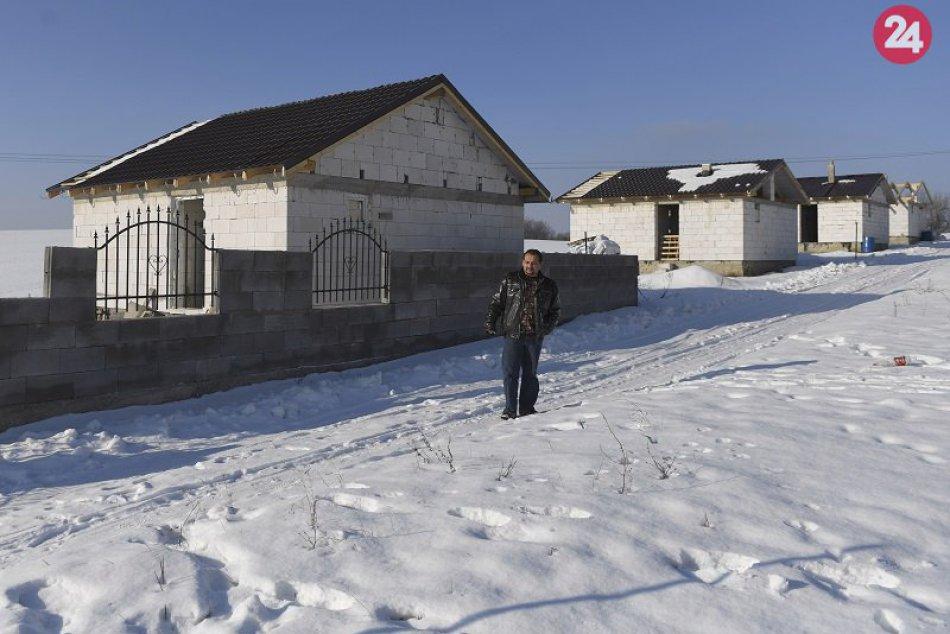 výstavba domov v Rankovciach