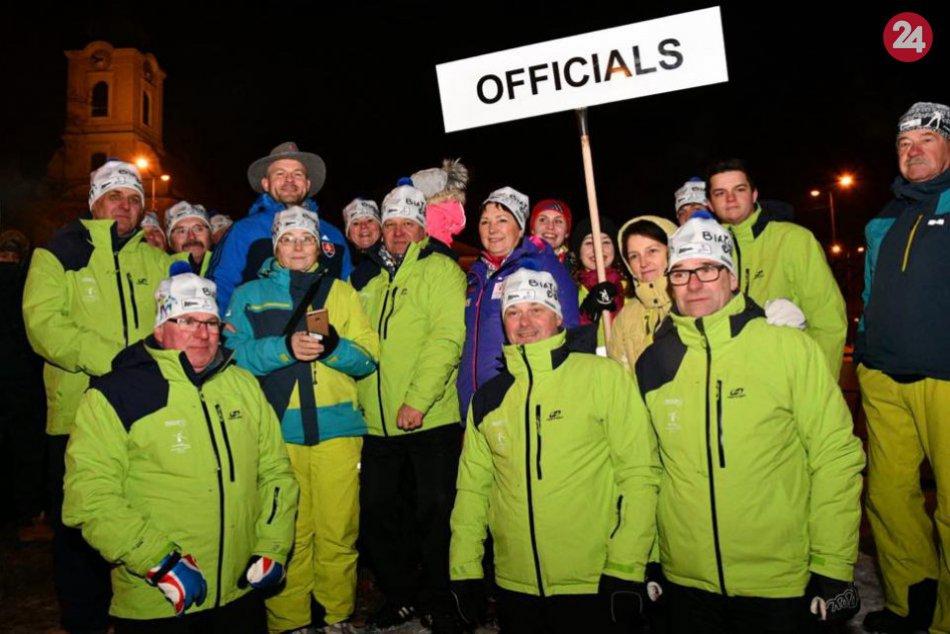 Slávnostný ceremoniál v Brezne - biatlon