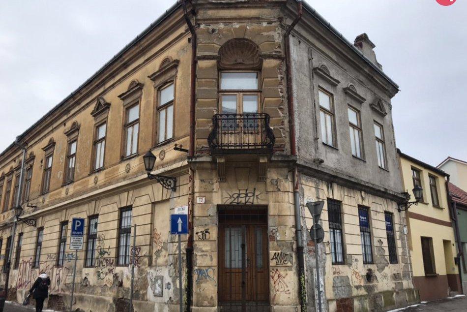 Strašidelné budovy Košice