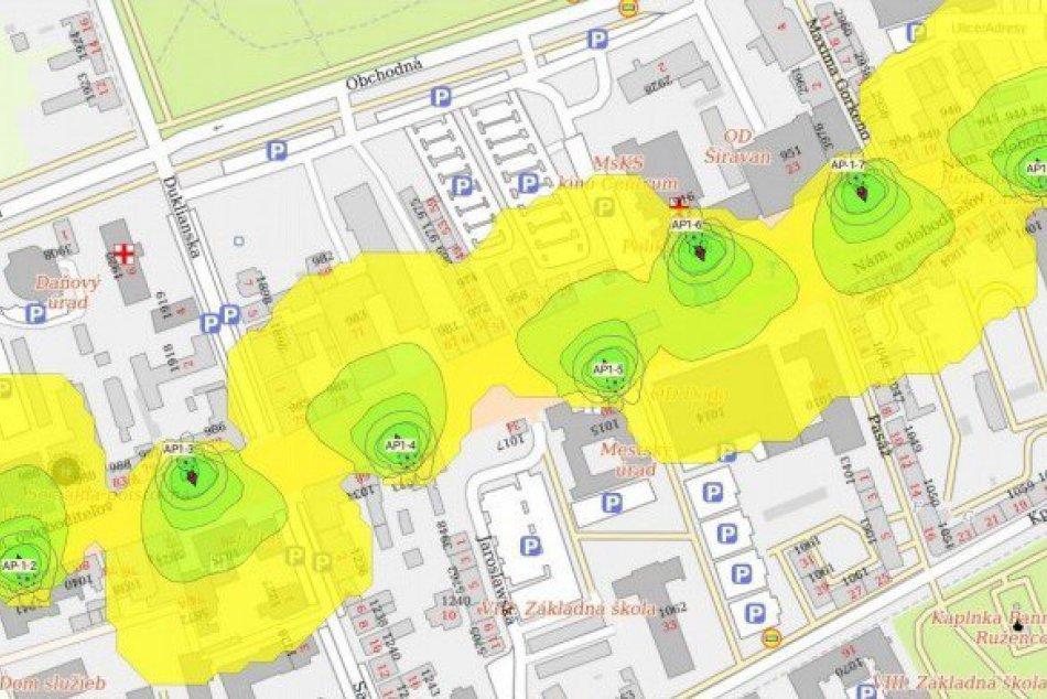 V našom meste plánujú posilniť wifi: Tu by mali byť nové prístupové body