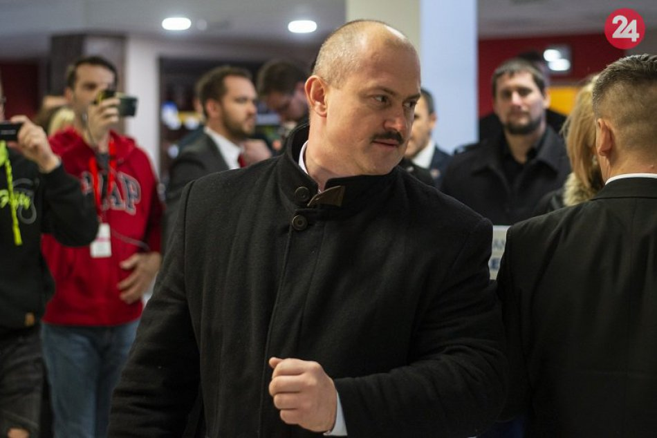 M. Kotleba kandiduje za prezidenta