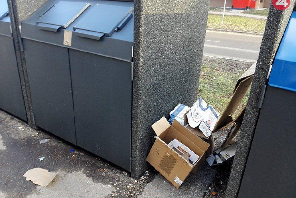 Jednou z horúcich tém v Nových Zámkoch je prekrývanie kontajnerovísk