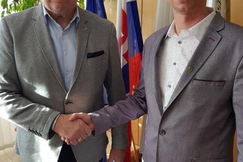 FOTO: Trizna sa stal novým zástupcom primátora Jána Blcháča