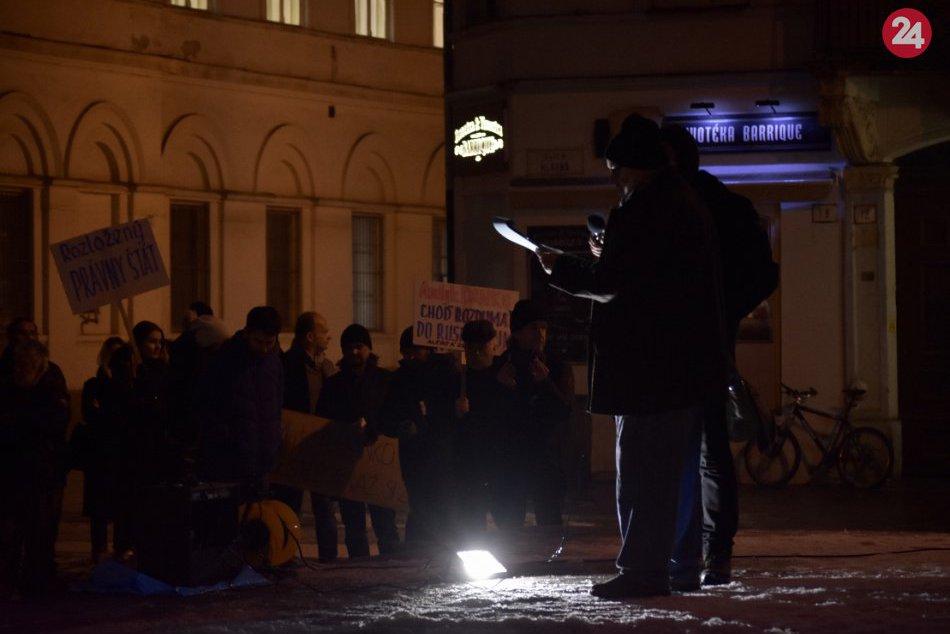 Protest proti Andrejovi Dankovi