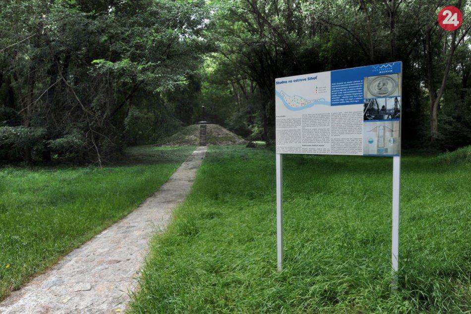 Prvý bratislavský mestský vodovod na ostrove Sihoť