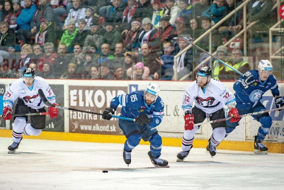V OBRAZOCH: Barani si doma poradili s hokejistami spod Zobora