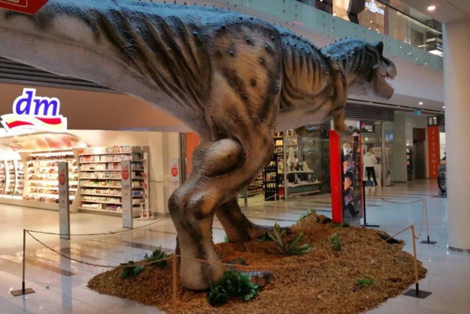 Výstava Návrat dinosaurov