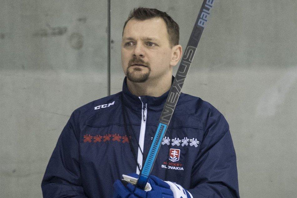 V OBRAZOCH: Tréning hokejovej reprezentácie na zraze pred Kaufland Cupom