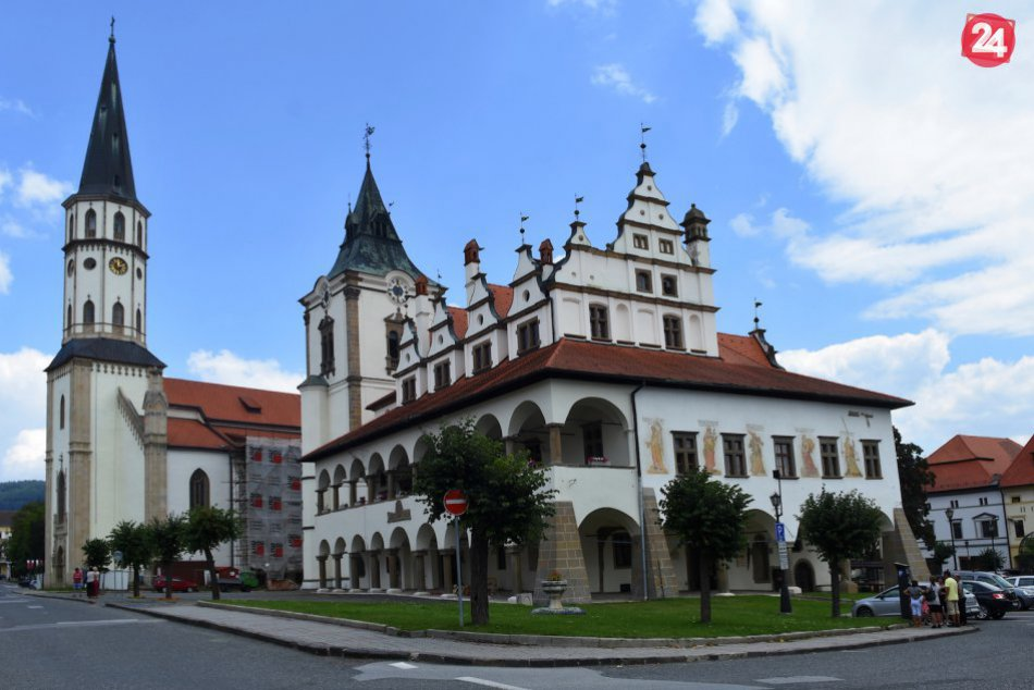 OBRAZOM: Levoča ako jedno z najkrajších a najzachovalejších stredovekých miest