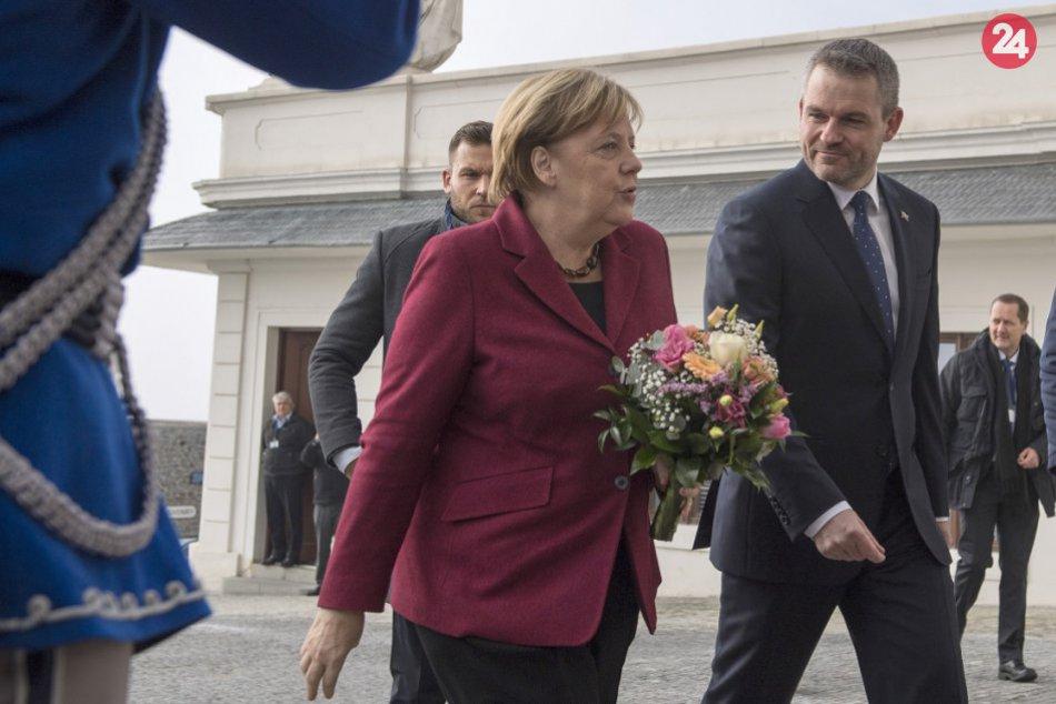 Slovensko navštívila nemecká kancelárka A. Merkelová