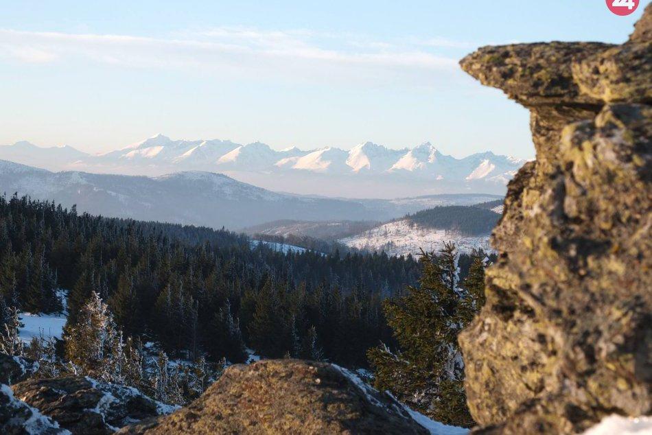 Obrazom: Západ slnka z Volovca