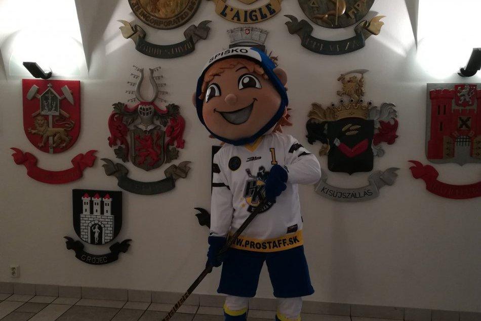 Maskot novoveských hokejistov sa volá Spiško: Toto je on