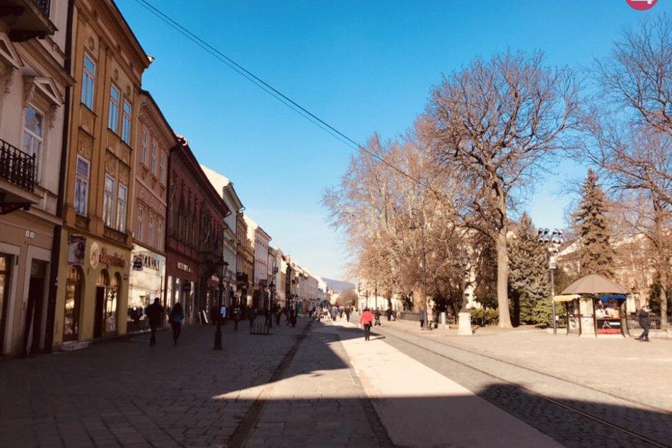 Romantické miesta v Košiciach
