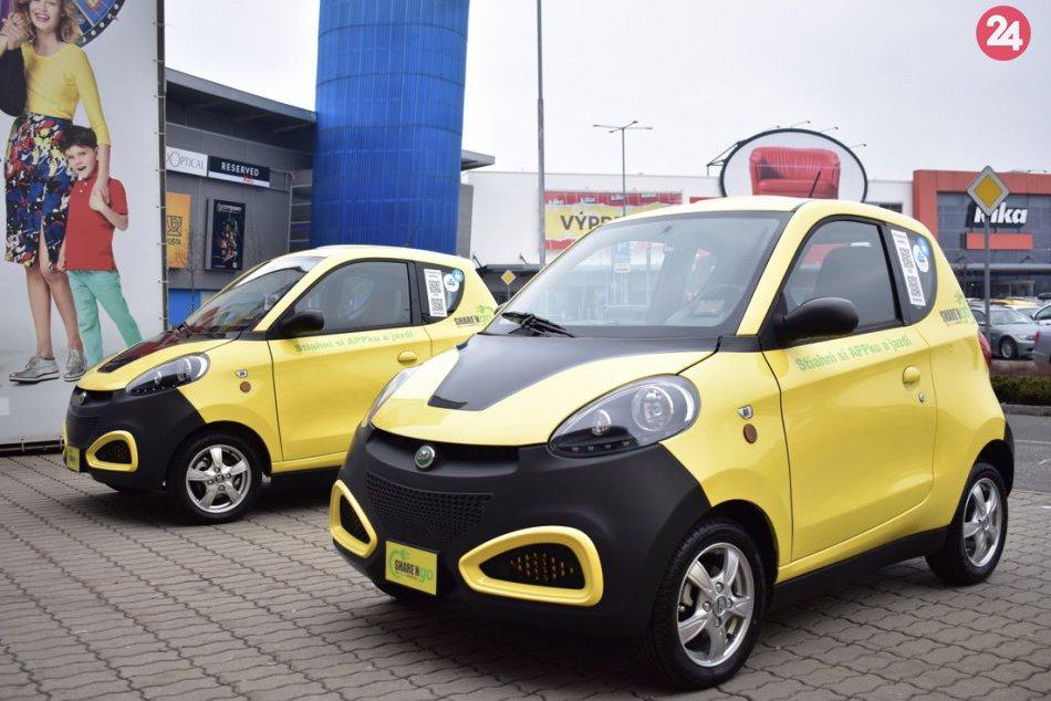 Zdieľanie elektromobilov Košice