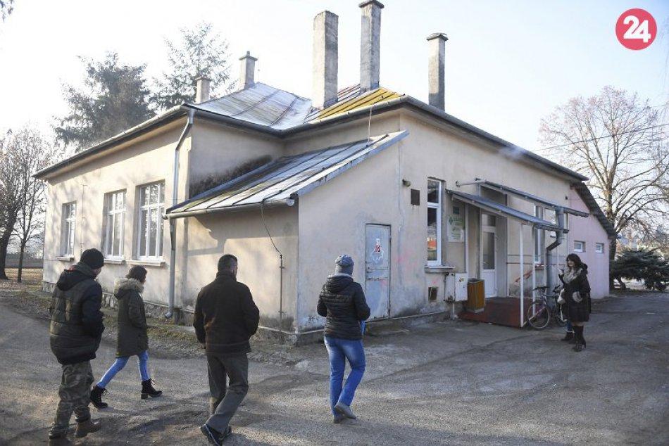 Zdravotné stredisko v obci Seňa