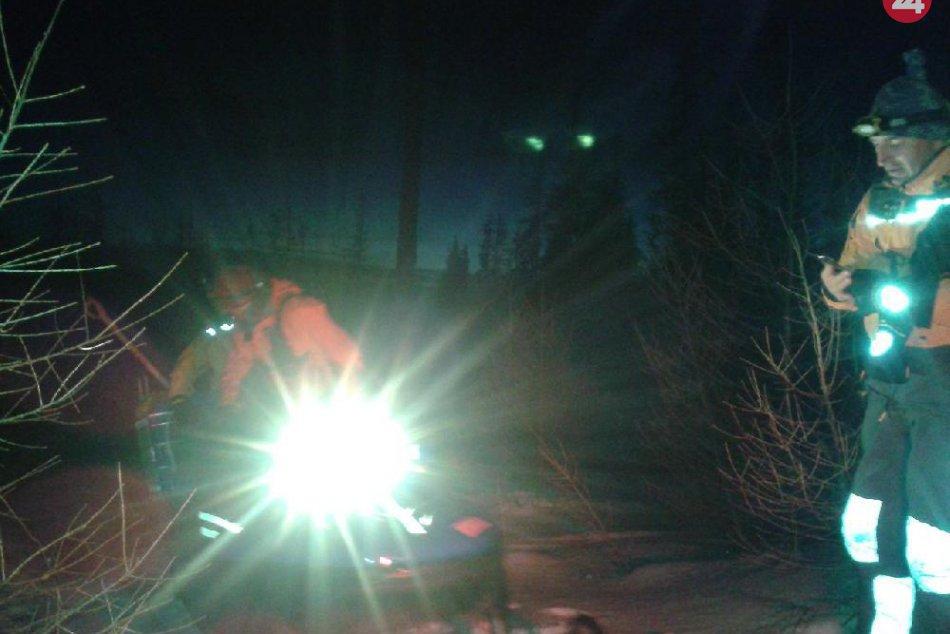 Päťstometrový pád turistov pod Končistou: V akcii štrnásť horských záchranárov