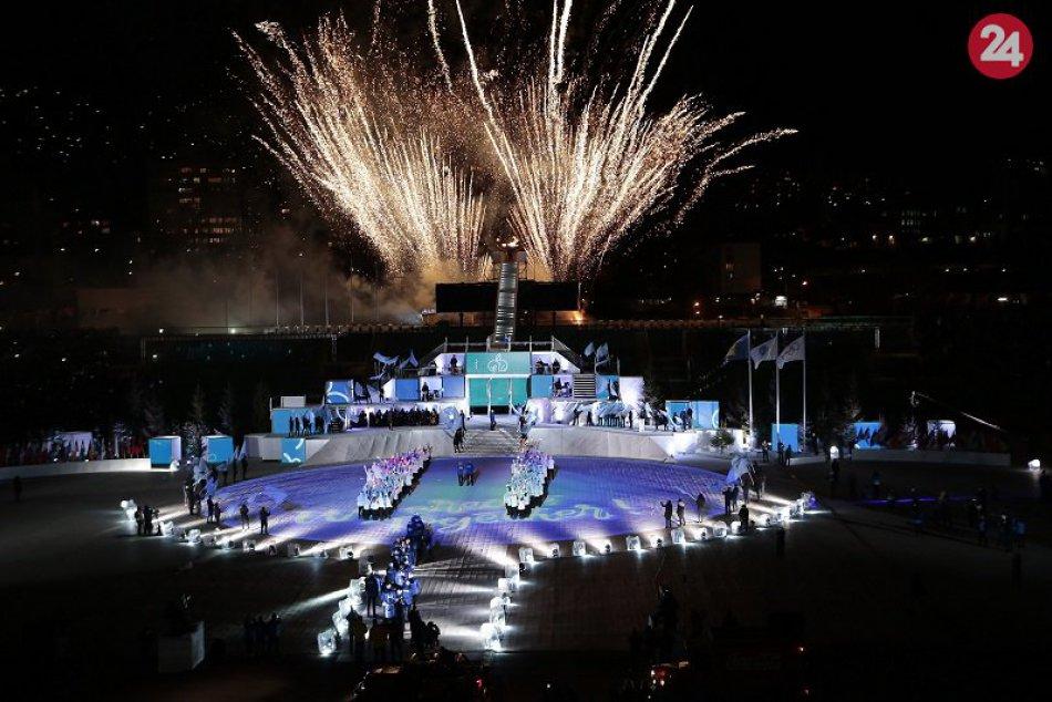 Otváracia ceremónia EYOF v Bosne 2019