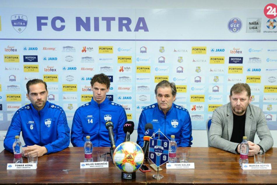 Tlačová konferencia FC Nitra pred začiatkom jarnej časti Fortuna ligy 2018/2019