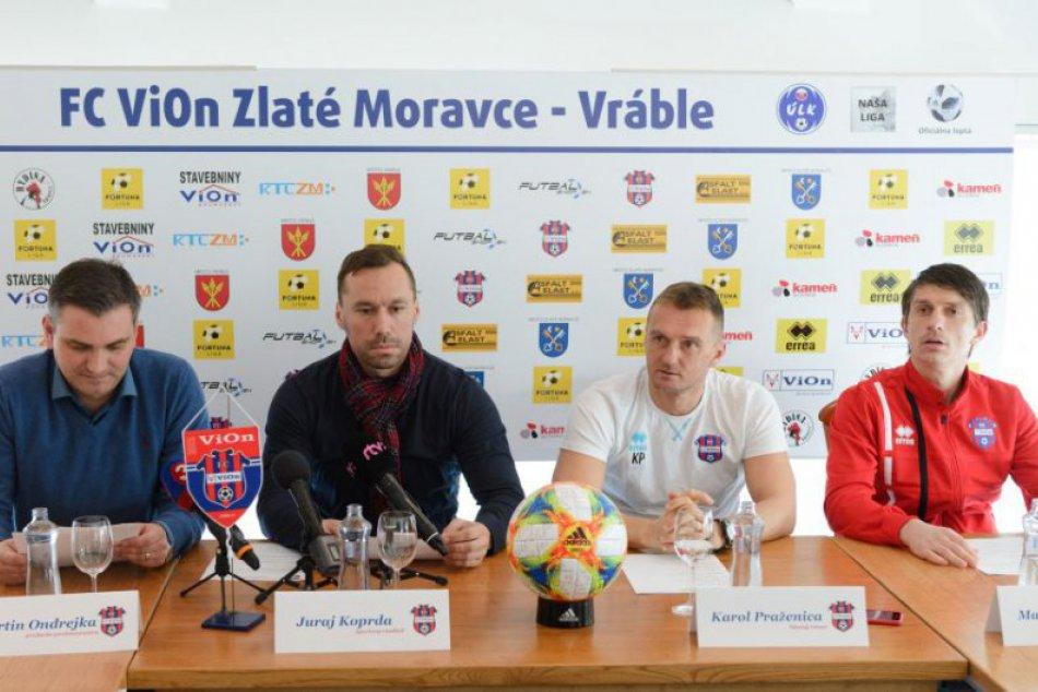 Tlačovka FC ViOn Zlaté Moravce pred začiatkom jarnej časti