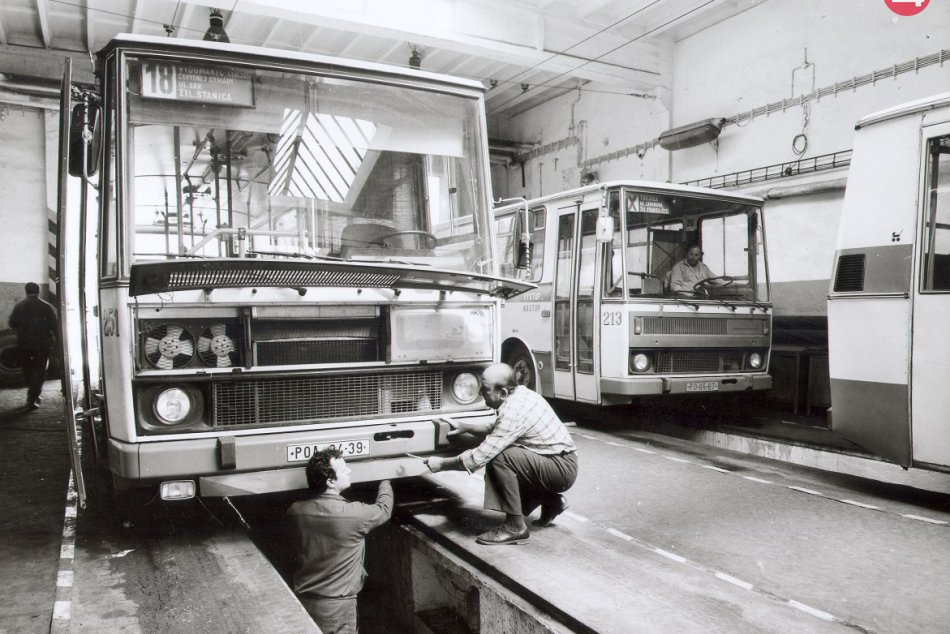 Skvelé snímky z histórie prešovského Dopravného podniku: To treba vidieť!