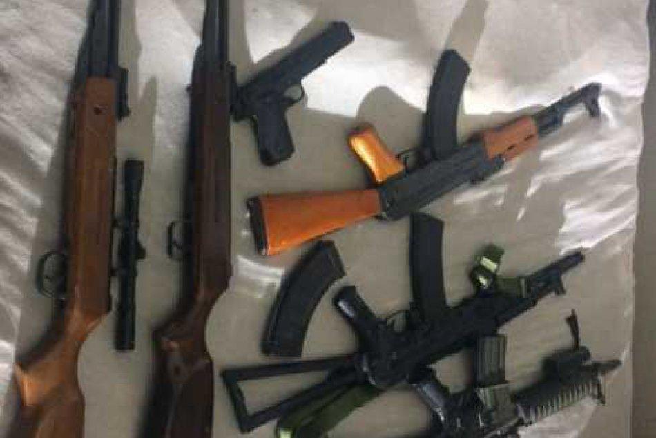 Policajná razia na Rúbanisku v Lučenci