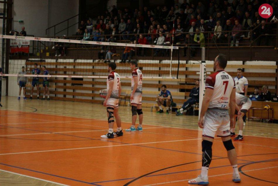 Do Prešova prišiel veľký favorit: Volejbalisti však na Prievidzu nestačili