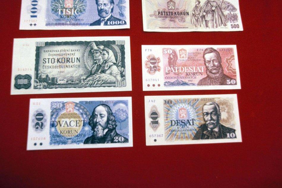 Stare ceskoslovenske papierove peniaze 24spravy