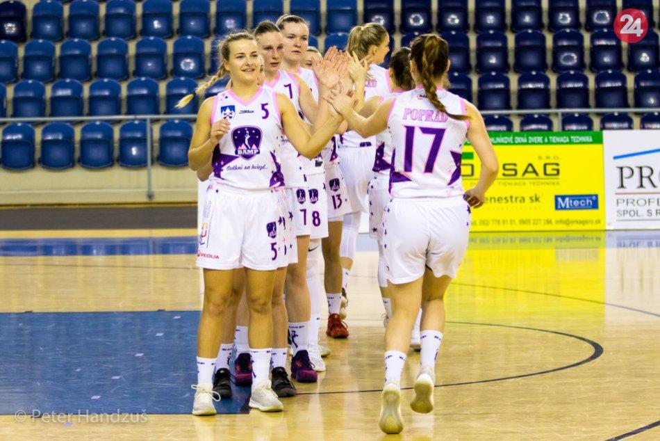 BAM Poprad - BKM Junior UKF Nitra 63:81