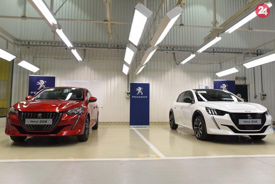 FOTO: Nový Peugeot 208 vyrábaný v závode PSA Groupe Slovakia v Trnave