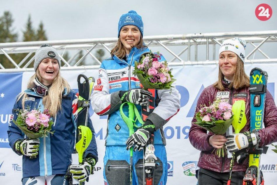 Vlhová vyhrala aj slalom EP, získala Veľkú cenu Demänovských jaskýň