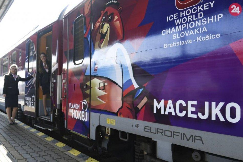 Špeciálny IC vlak Macejko