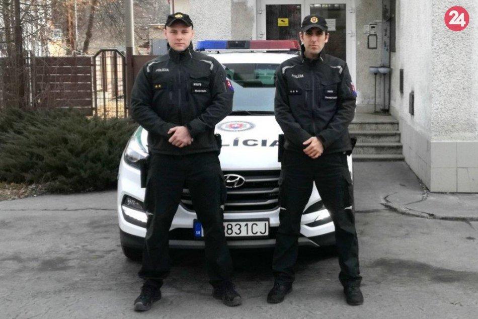 Záchranná akcia policajtov vo Fiľakove