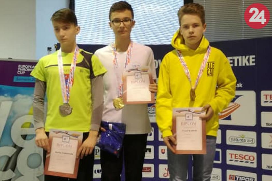 Humenský žiak Ondrej: Stal sa slovenským rekordérom vo viacboji! FOTO