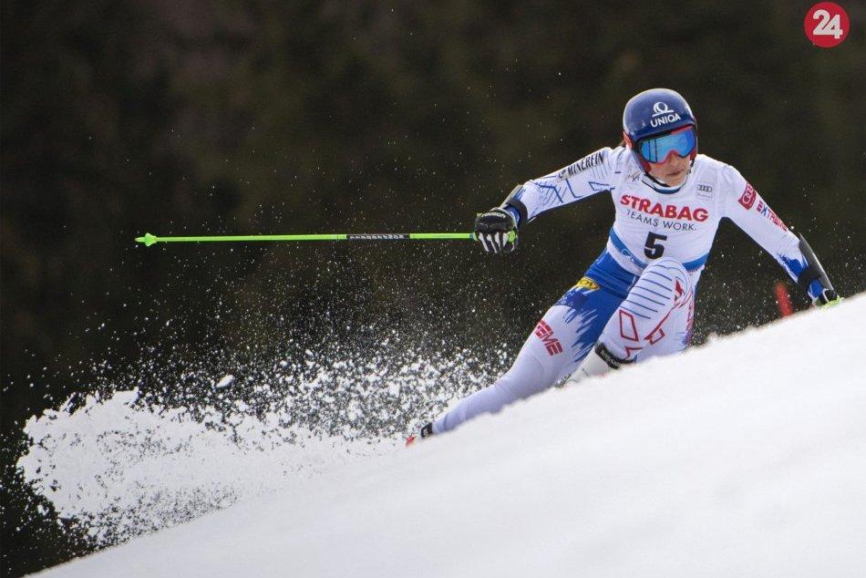 Petra Vlhová ovládla obrovský slalom v Špindlerovom Mlyne