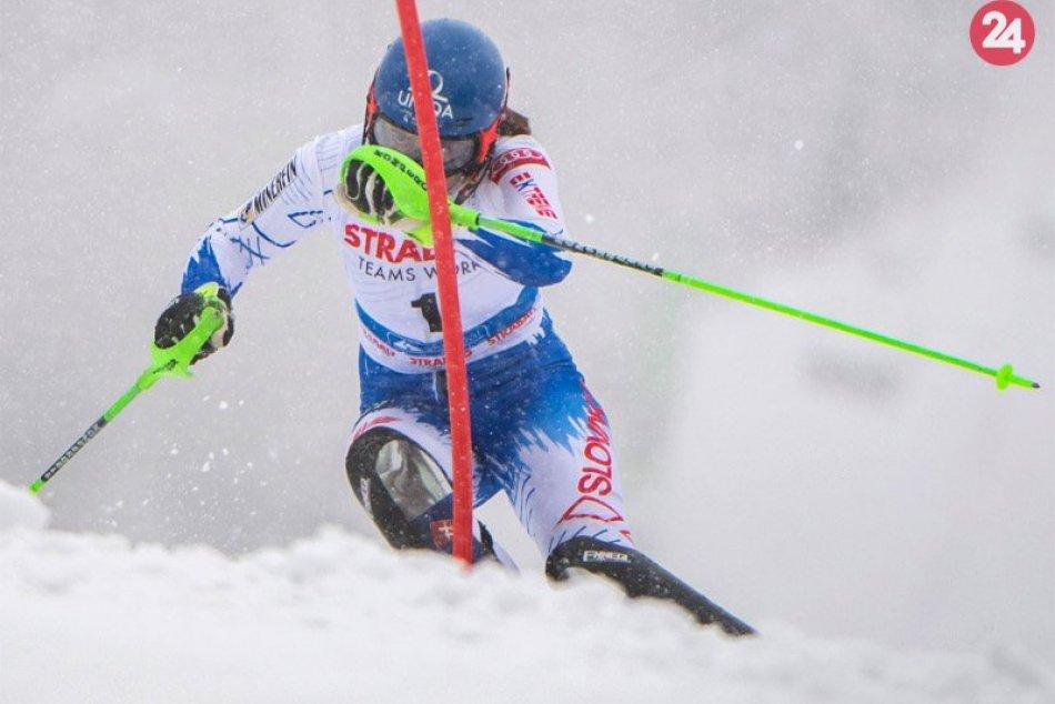 Vlhová opäť na pódiu: V slalome Svetového pohára skončila na treťom mieste