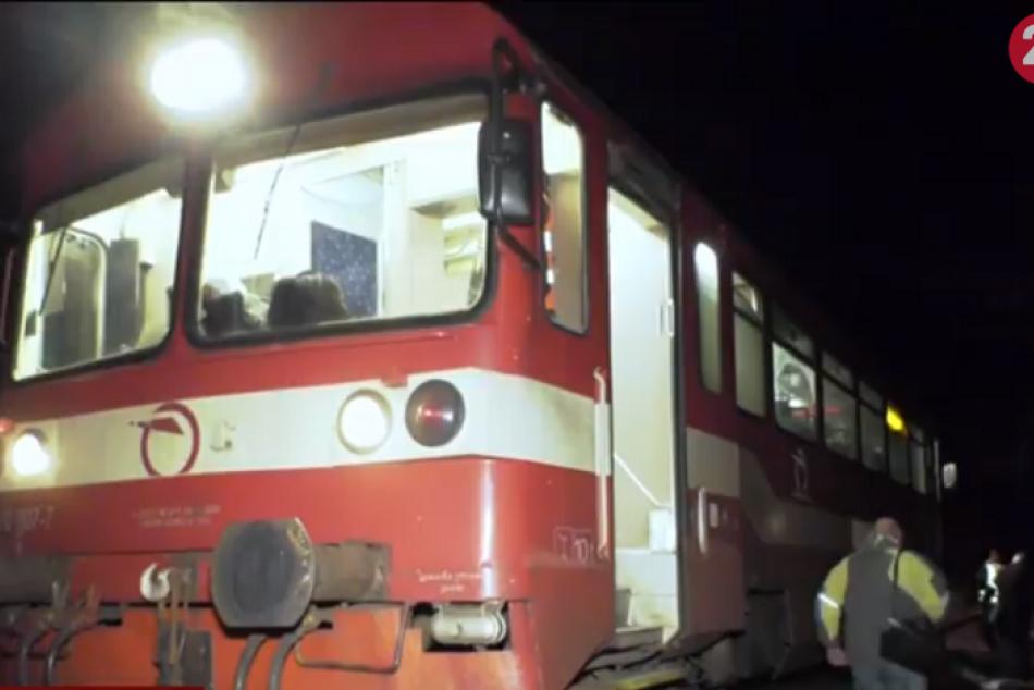 Vlak zrazil muža na trati Dubová - Podbrezová