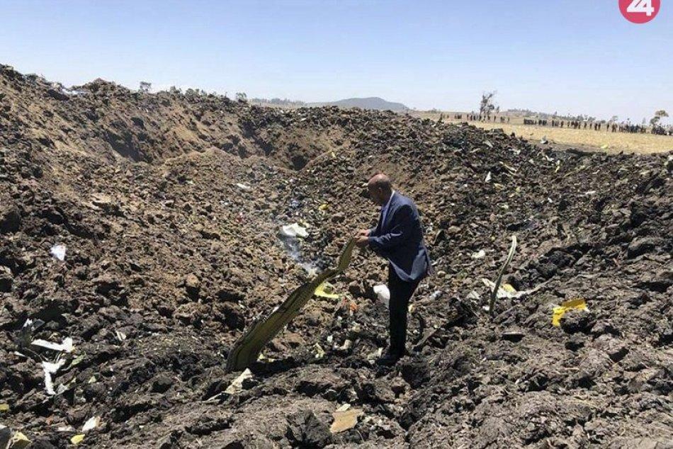 Letecké nešťastie v Etiópii