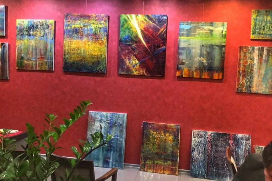 Výstava Vadyma Shamanova v KE