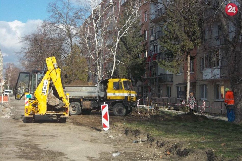 Na Hornej v Šali panuje čulý ruch: Začala sa 2. etapa rekonštrukcie, FOTO