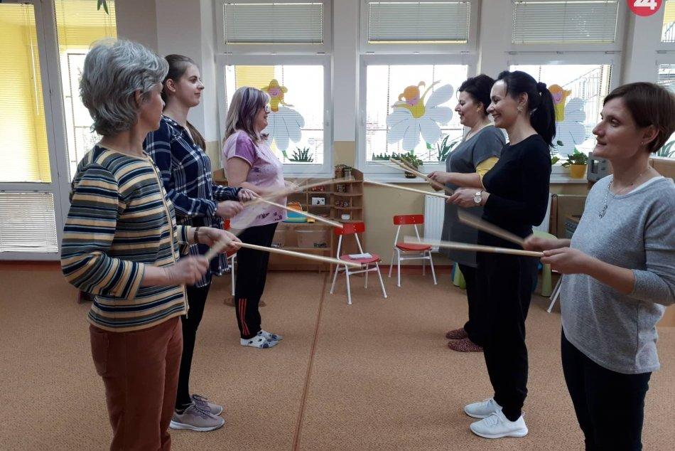 Šalianske učiteľky sa vzdelávali: Inšpirovali sa ľudovými spevmi i tancami, FOTO