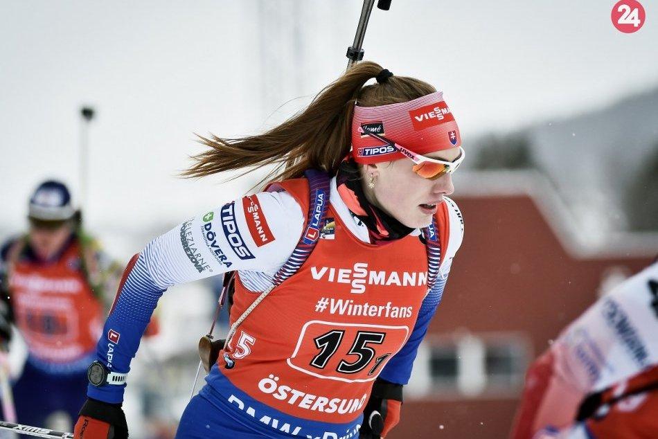 Majstrovstvá sveta v biatlone: Slovensky skončili v štafete šieste
